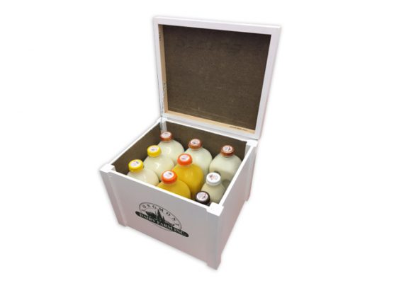 9-Bottle Milk Box