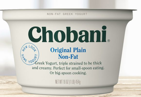 Chobani Plain Non-Fat Greek Yogurt
